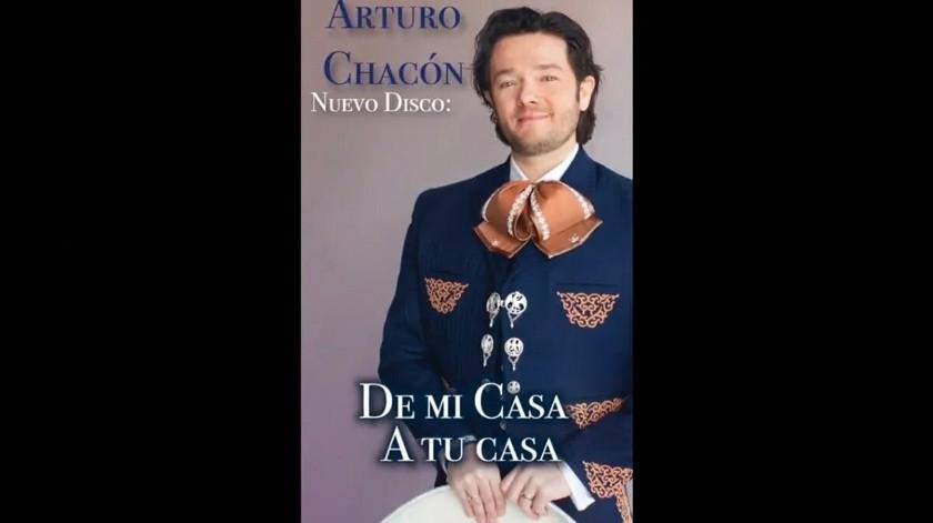 Arturo Chacón lanza disco de mariachi para festejar fiestas patrias
