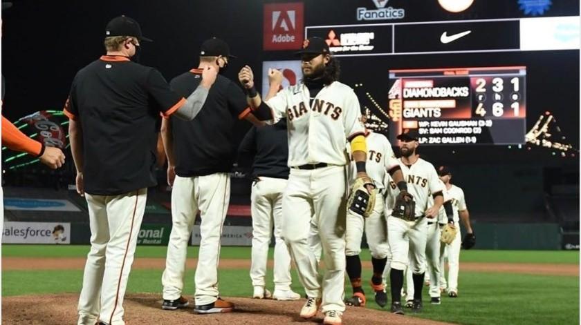 MLB pospone serie de Gigantes-Marineros por humo de incendios forestales(Instagram @sfgigantes)