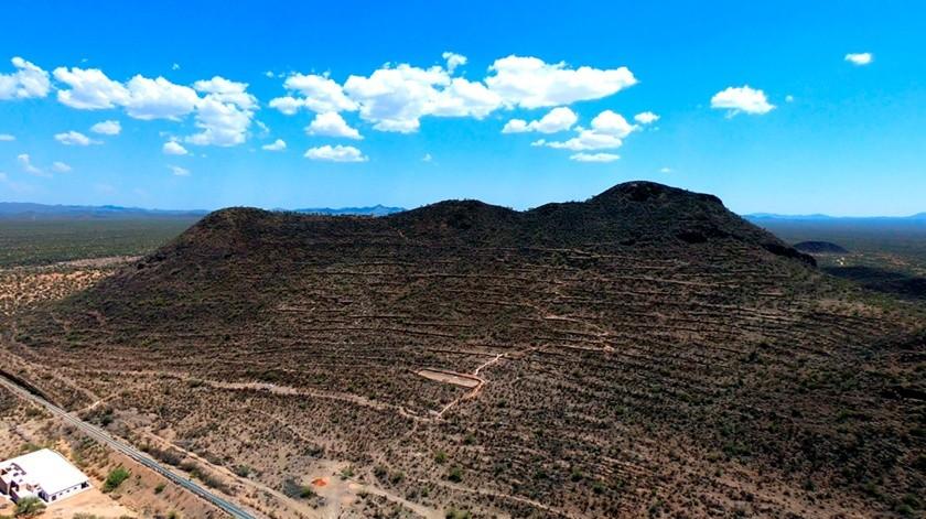 El Cerro de Trincheras llegó a tener una población cercana a los mil habitantes, hace unos 700 años(Especial)