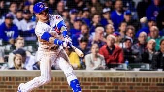 Cuadrangular de Javier Báez le da la victoria a los Cubs sobre Indios