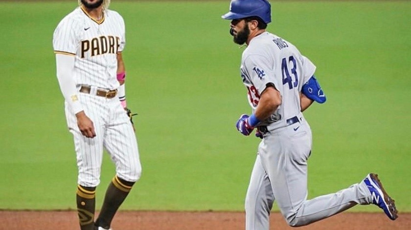 Dodgers controla a 'Slam Diego'(Cortesia Dodgers)