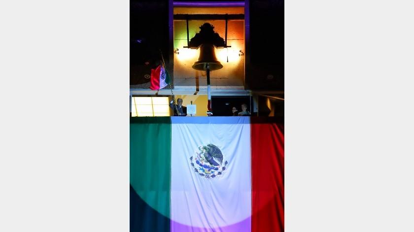 Encabeza Bonilla ceremonia del Grito de Independencia(Daniel Reséndiz)