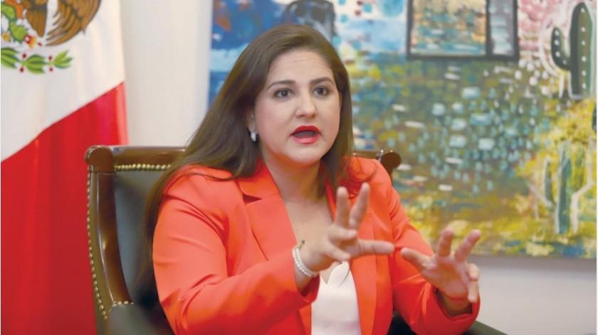 Célida López Cárdenas hace un balance de sus dos años de Gobierno y sus prioridades en 2021(Especial.)