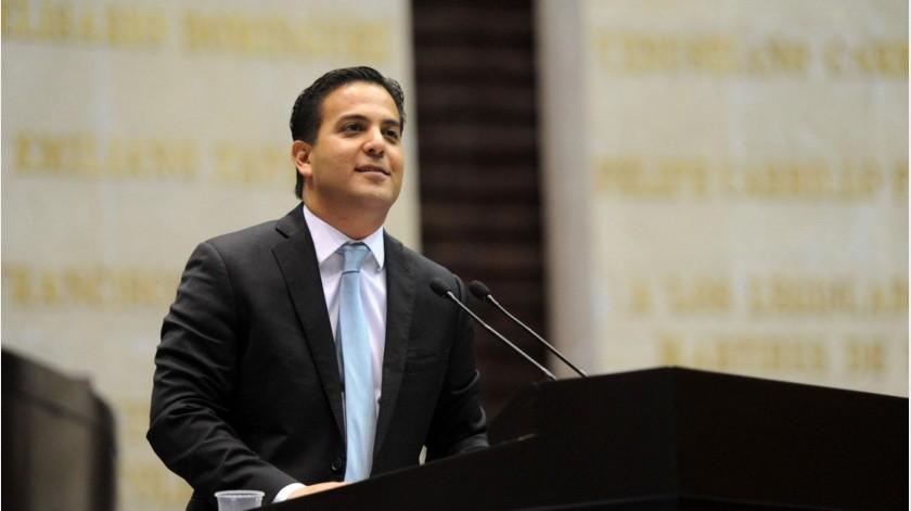 El senador Damián Zepeda es integrante de un grupo de trabajo de senadores que estudia la propuesta de Ingreso Mínimo Vital(El Imparcial)