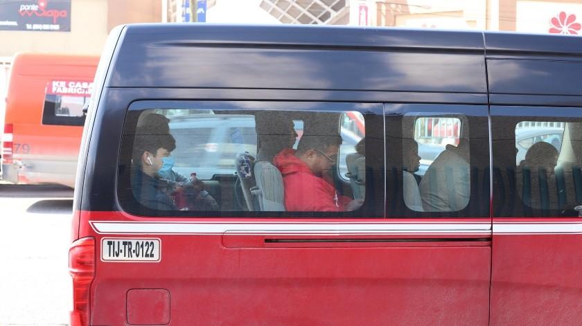 Continúa vigilancia sanitaria a taxistas en Tijuana(Archivo)