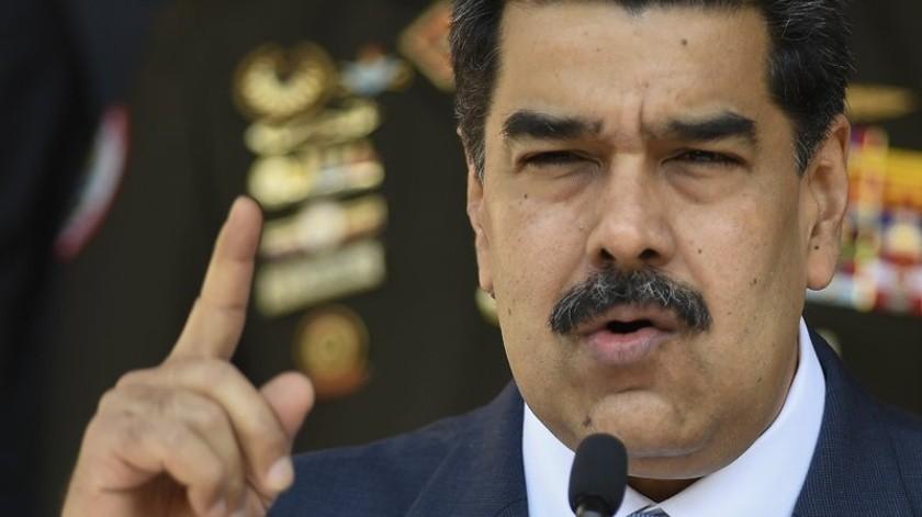 """El canciller, Jorge Arreaza, dice que el informe de la Misión del Consejo de Derechos Humanos está """"plagado de falsedades"""" y dice que la misión está controlada por """"gobiernos subordinados"""" a Estados Unidos.(AP)"""