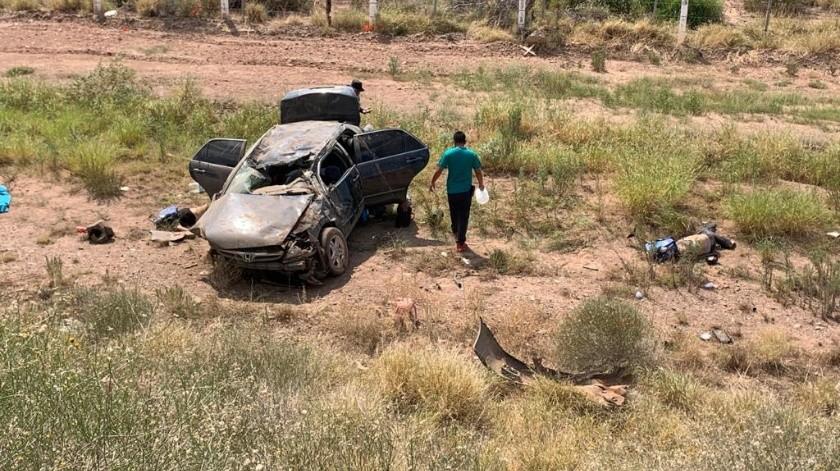 El accidente se registró a la altura del kilómetro 173, de la carretera federal Guaymas-Hermosillo(Especial)