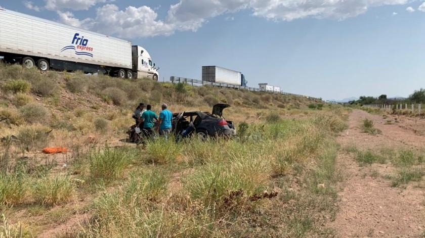 Además de tres muertos, tres personas más resultaron con lesiones graves(Especial)