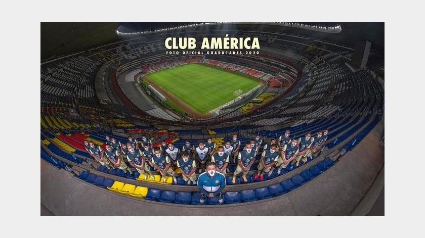 ¡Que gran gesto! Fotografía oficial del América es en honor a sus aficionados(Twitter @ClubAmerica)