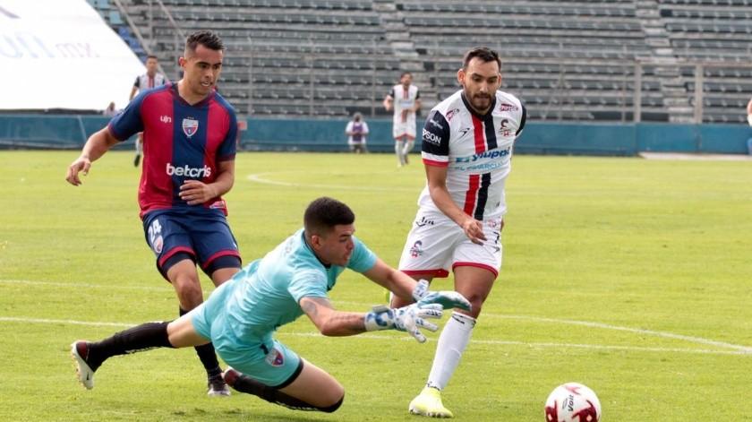 Ángel López no pudo marcar diferencia a favor de Cimarrones(Cortesía)