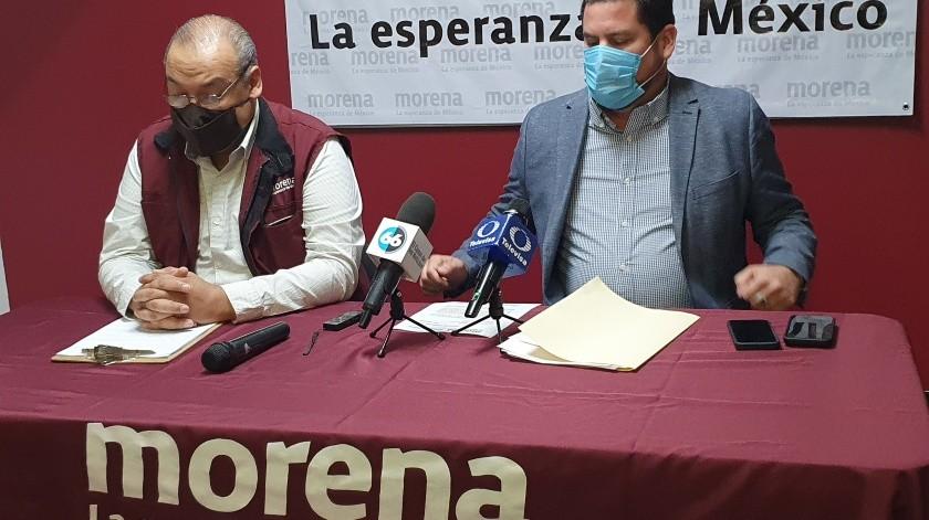 Desconoce Burgueño nueva dirigencia de Morena BC