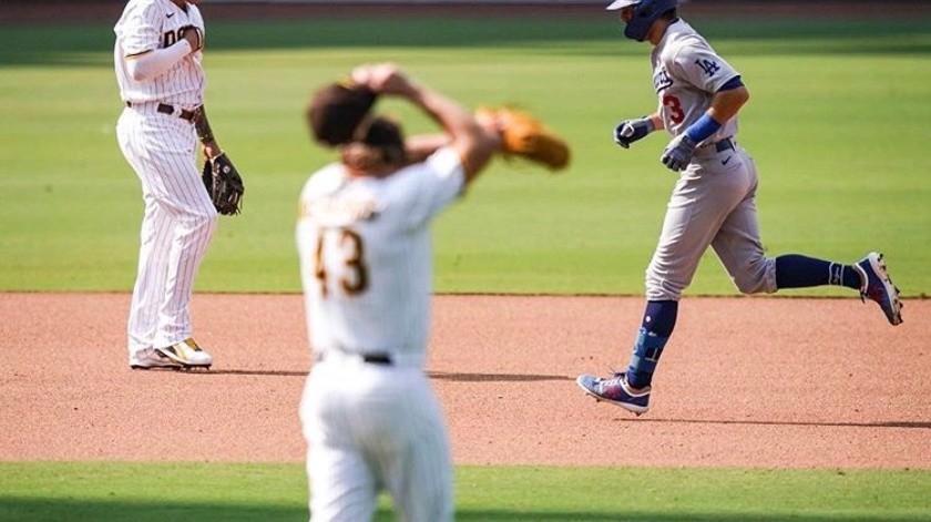 Padres dejan ir la serie ante los Dodgers(Cortesia Dodgers)