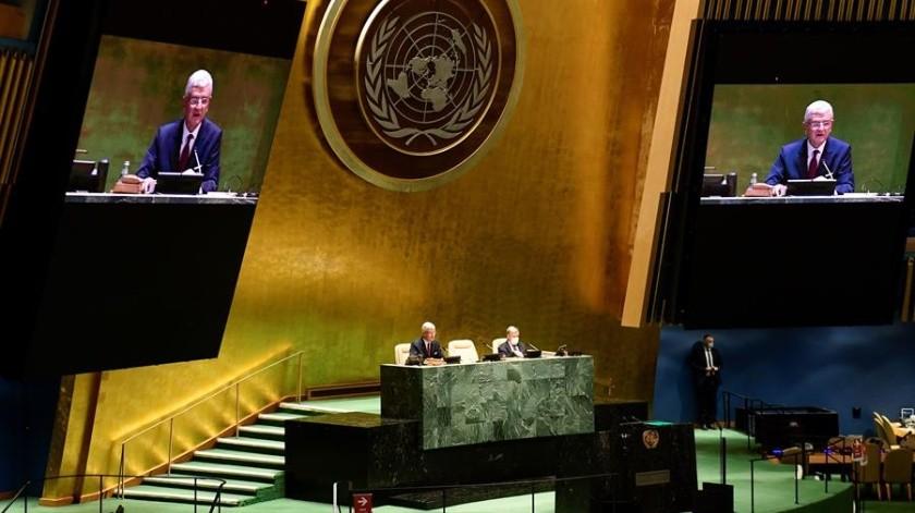 El jefe de la ONU pidió mostrar unidad para superar la pandemia por coronavirus(EFE)