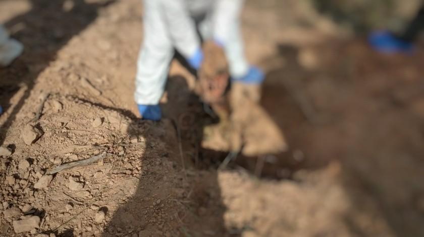 Las fosas fueron localizadas en la colonia La Mesa.(Especial)