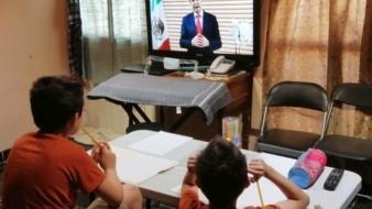 Brinda Secretaría de Educación asesoría a padres sobre clases virtuales