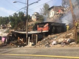 Se incendia vivienda en colonia Anexa Buena vista