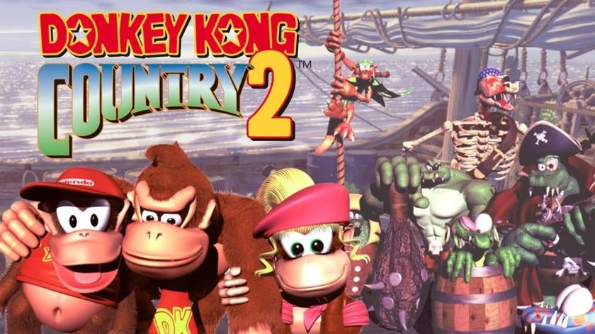 Se agregarán a la biblioteca retro de Nintendo Switch Online algunos títulos entre ellos la secuela de 1995 del Donkey Kong Country original que se agregó a Nintendo Switch Online en julio.(Nintendo)