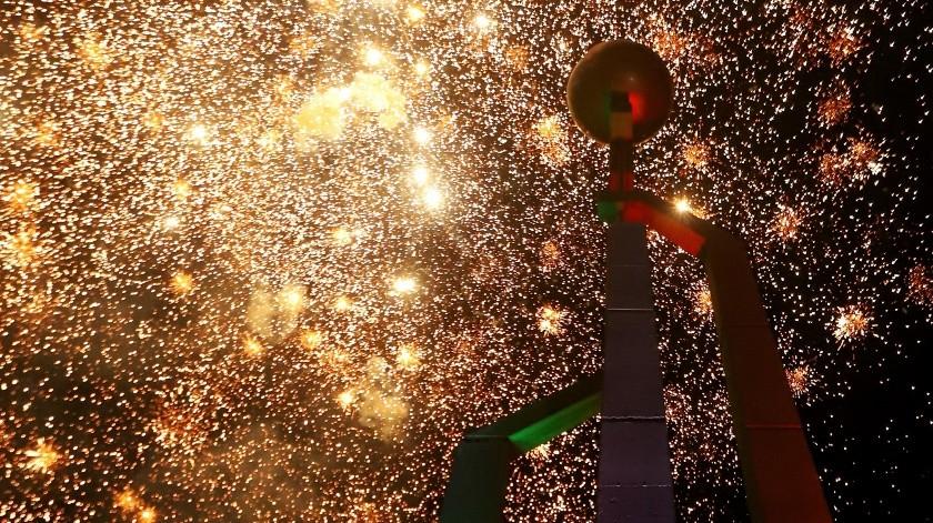 Quema de cohetes en Grito porque la gente lo pidió: Bonilla(Daniel Reséndiz)
