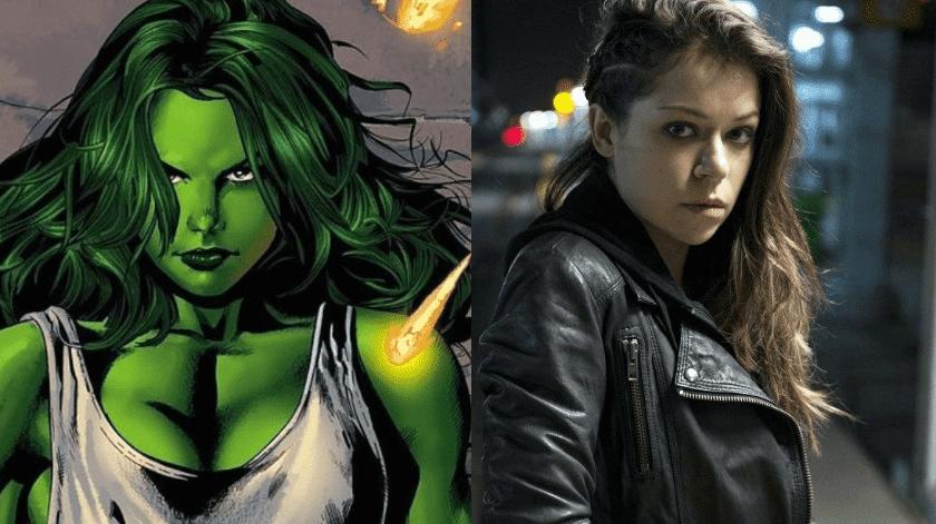 """La protagonista de """"Orphan Black"""" ahora se convertirá en """"She-Hulk"""", la prima de """"Hulk"""".(Especial)"""