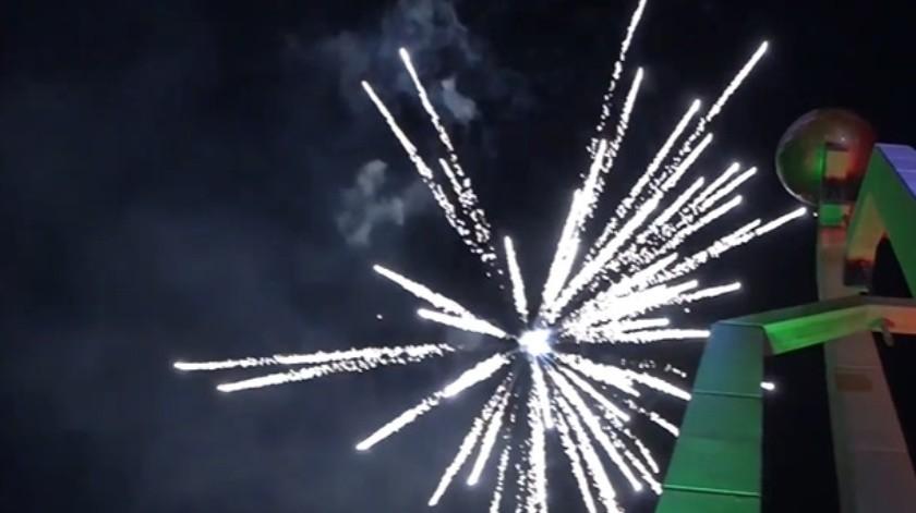 Alcaldesa dice que se usó pirotécnica en Grito de Independencia por ser un día especial