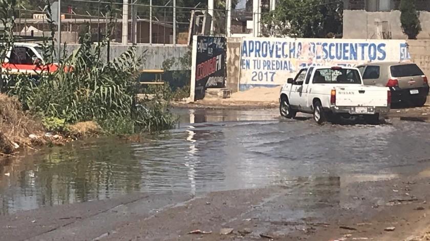 Rosarito: Vierten aguas negras en arroyo que va al mar(Carmen Gutiérrez)