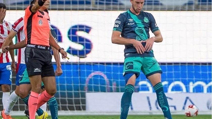 Santiago Ormeño ha marcado cuatro goles en el torneo(Instagram)