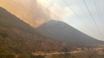 Incendio en Rosarito consume 2 mil hectáreas