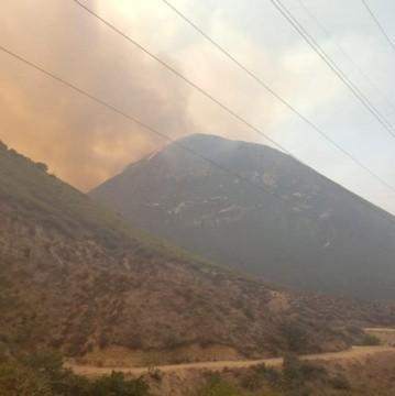 Incendio en Rosarito ha consumido 2 mil hectáreas y avanza