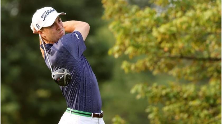 Justin Thomas finaliza como líder en el primer día del Abierto de Golf EE.UU.(EFE)