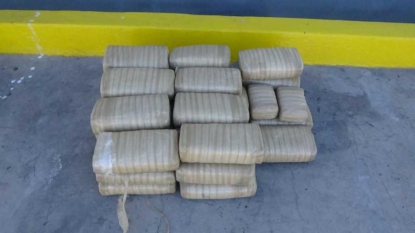 La droga fue puesta hoy a disposición de las autoridades en Florida, tras ser descargada en el Puerto Everglades, en el sur del estado(Archivo GH)