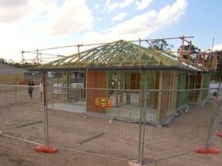 La casa de la joven de  19 años de edad, está en construcción al Sur de Brisbane