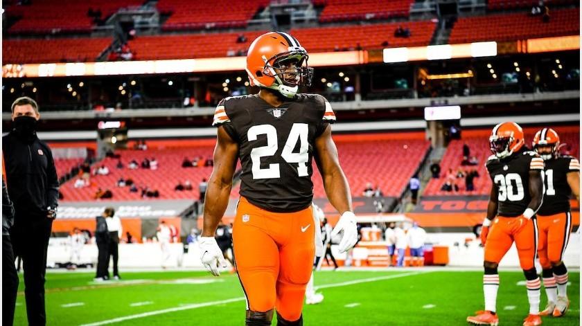 Los Browns ganaron su primer juego de la campaña.(Internet)