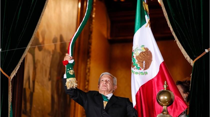 Revelan costo de Grito de Independencia de AMLO con Zócalo vacío(EFE)