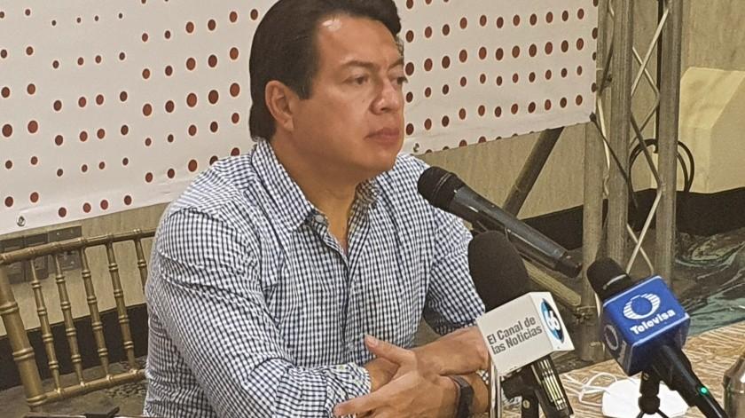 Busca Mario Delgado continuidad y unión en Morena(Cortesia)