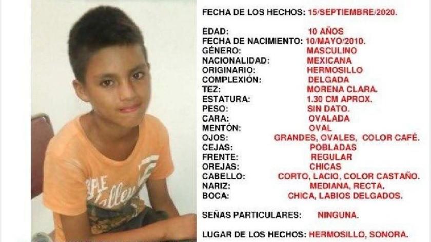 Alerta Amber: Piden ayuda para hallar a José Antonio, de 10 años; salía de Casa Hogar(Especial)