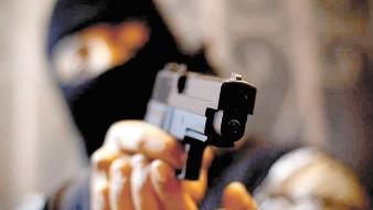 El asaltante traía una pistola de aire