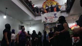 Zamudio y las otras víctimas saldrían de la CNDH luego de que se dieron a conocer varias diferencias entre Bloque Negro y Ni Una Menos.