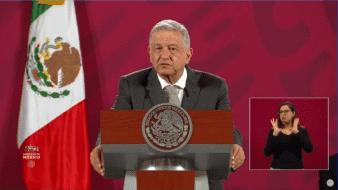 Andrés Manuel López Obrador, presidente de la República Mexicana.