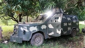 CJNG: Decomisan de lanzagradas hasta camionetas blindadas en Michoacán