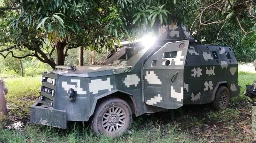 CJNG: Decomisan de lanzagradas hasta camionetas blindadas en Michoacán(El Universal)