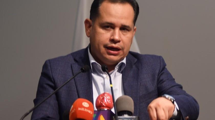 El Fiscal Central Hiram Sánchez Zamora informó sobre los avances de la investigación.(Gustavo Suárez)