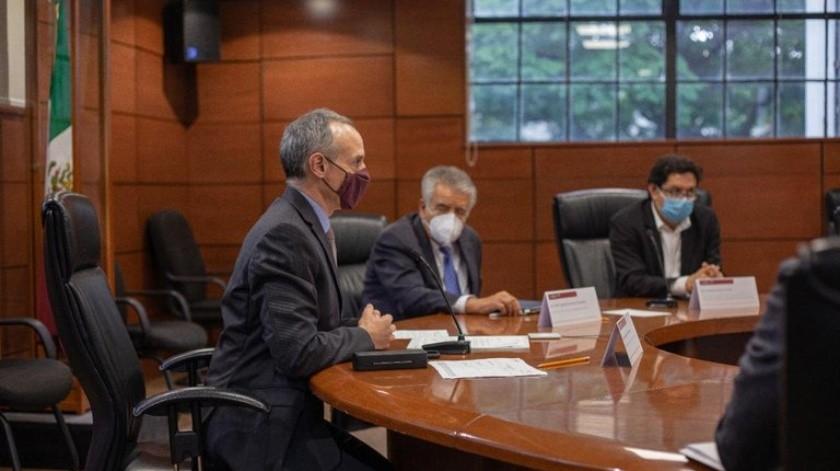 "López-Gatell califica de ""productiva"" reunión con Landstainer sobre vacuna rusa(Twitter/ @HLGatell)"