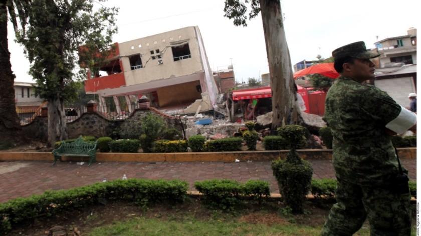 En 2017 ocurrió un sismo precisamente un día como hoy, que es aniversario del ocurrido en 1985(El Imparcial)