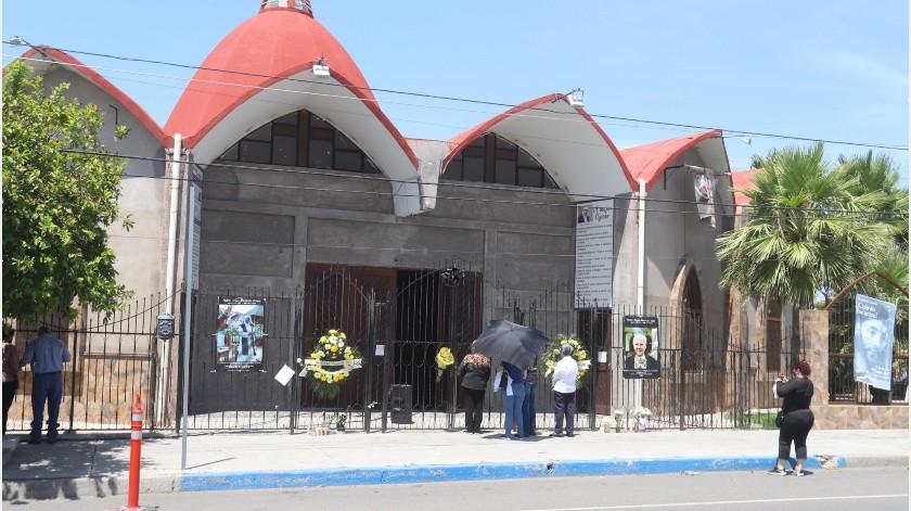 Según información de la Arquidiócesis de Hermosillo en cada parroquia se designó un grupo responsable que recibió capacitación y verificará que se cumplan las medidas de sanidad y sana distancia.(Archivo GH)