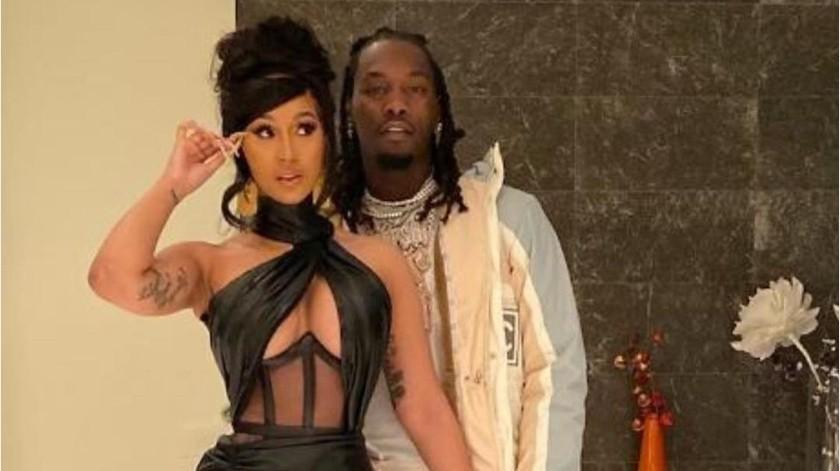 La cantante se mostró firme con su decisión y aclaró que el divorcio no fue por una nueva infidelidad de Offset.(Tomada de la red)