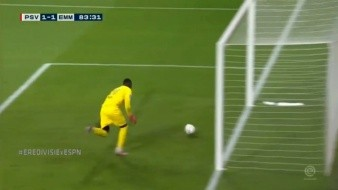 La imagen del portero del PSV le ha dado la vuelta al mundo