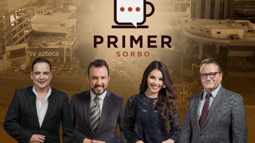"""""""Primer sorbo"""" llega a Tv Azteca este lunes(Cortesía)"""