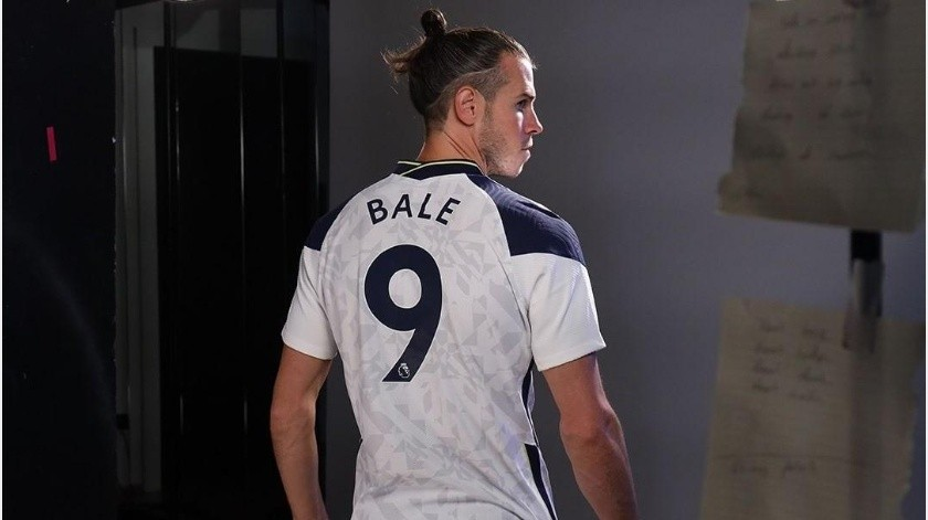 ¡Ahora el 9! Gareth Bale utilizará nuevo número con el Tottenham(Instagram @spursofficial)