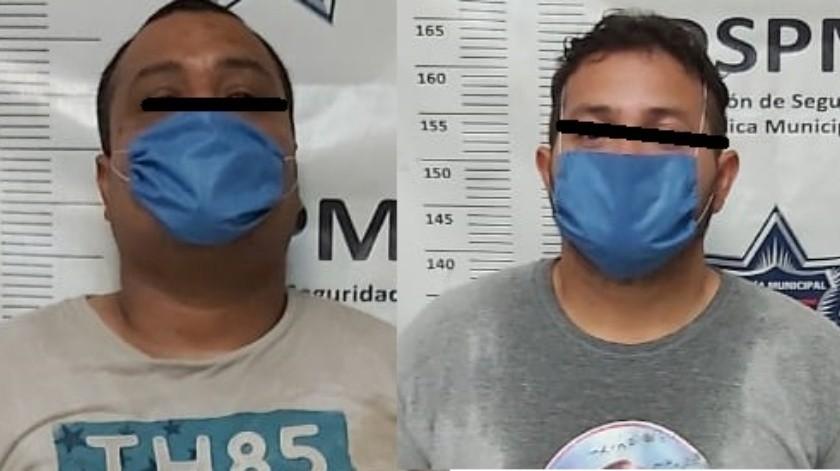Arrestan a dos por supuesto homicidio en el fraccionamiento Misión del Ángel(Cortesía)