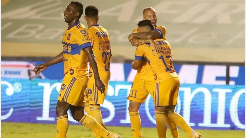 ¡Felinos al acecho! Tigres golean al Queretaro por 3-0(EFE)